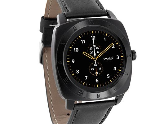 nara xw pro black chrome xlyne smartwatch premium. Black Bedroom Furniture Sets. Home Design Ideas