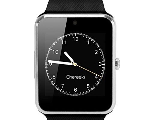 chereeki bluetooth smartwatch mit kamera unterst tzt sim karte tf karte handy armbanduhr. Black Bedroom Furniture Sets. Home Design Ideas