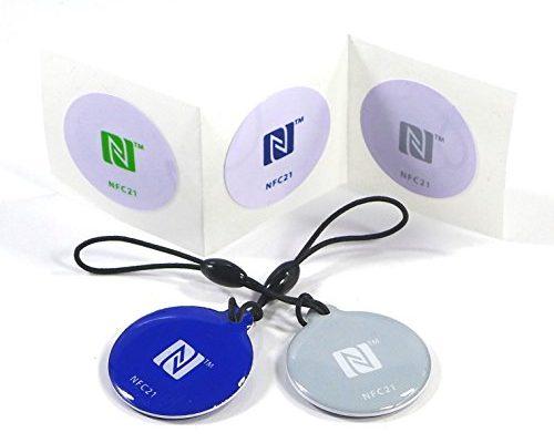 NFC Starter Kit Mini, 5 NFC Tag Sticker kompatibel mit allen