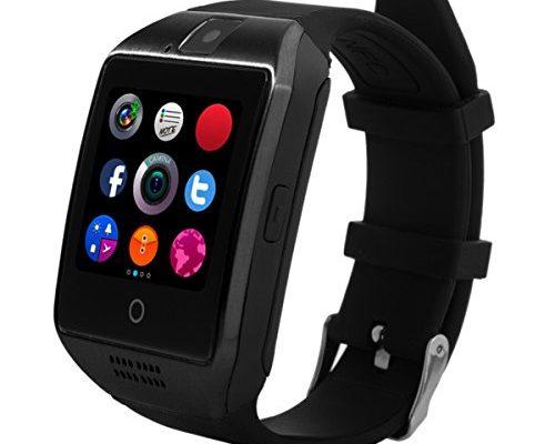 smartwatch chereeki bluetooth smart watch armbanduhr handy uhr smartwatch android uhr mit kamera. Black Bedroom Furniture Sets. Home Design Ideas