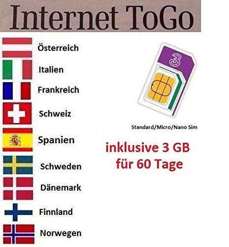 Prepaid Karte Internet.Prepaid Daten Sim Karte Mobiles Internet Für Die Usa Australien