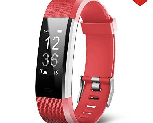 fitness tracker juboury smart bracelet mit pulsmesser. Black Bedroom Furniture Sets. Home Design Ideas