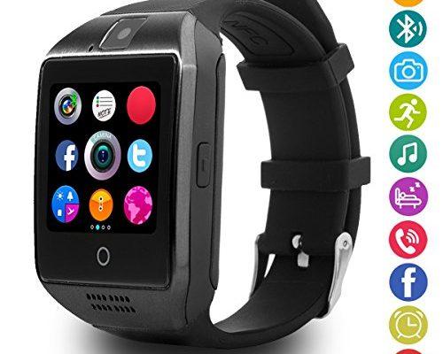latec bluetooth smartwatch unterst tzt sim karte kamera intelligente armbanduhr sport uhr mit. Black Bedroom Furniture Sets. Home Design Ideas