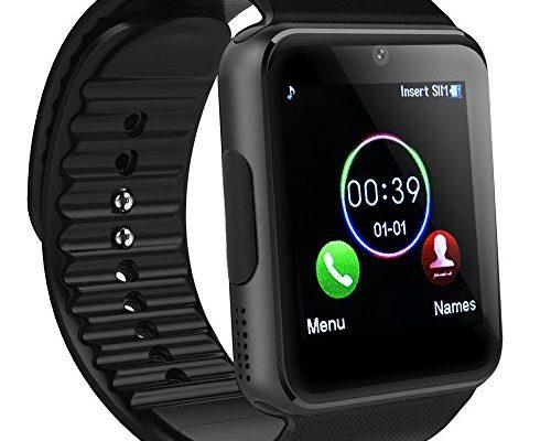 bluetooth smartwatch sainko intelligente armbanduhr. Black Bedroom Furniture Sets. Home Design Ideas