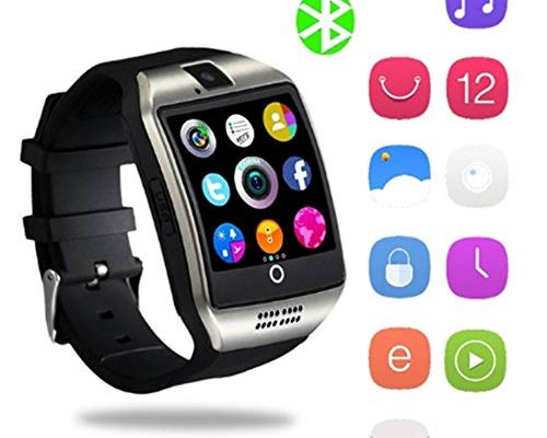 bluetooth smartwatch yapmor smart armbanduhr kompatibel. Black Bedroom Furniture Sets. Home Design Ideas