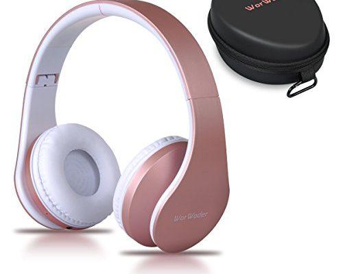 bluetooth kopfh rer over ear kabellose headset stereo wireless bluetooth kopfh rer mit mikrofon. Black Bedroom Furniture Sets. Home Design Ideas