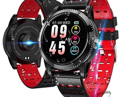 smartwatch smart armband blutdruck uhr mit herzfrequenz. Black Bedroom Furniture Sets. Home Design Ideas
